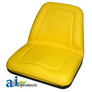Allis Chalmers, Bobcat, Case IH, Ford New Holland, Kubota, Massey Ferguson, White Oliver Mpl Moline, Yanmar Tractor, Skid Steer Loader Michigan Style Yellow Seat Part No: A-TM555YL (Farm Tractor Parts For Yanmar compare prices)