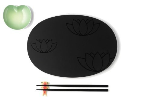 A di Alessi Lily Pond Sushi Set by Alessi (China Lily Soy Sauce compare prices)