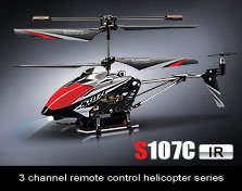 Syma S107C Camera 3 Channel Remote Control Helicopter