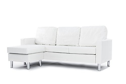 modern-bonded-leather-sectional-sofa-small-space-configurable-couch-colors-black-white-white