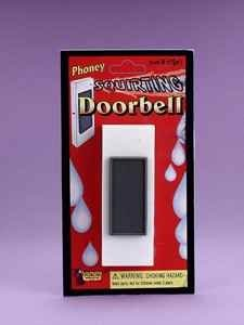 Squirting Door Bell Novelty Toy - 1
