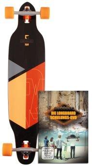 RAM SOLITARY LTD Longboard inkl. Longboard Schulungs-DVD