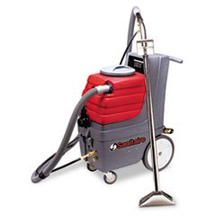 * Commercial Carpet Extractor, 9Gal Tank Capacity, 50-Ft Cord, Red/Gray front-473557