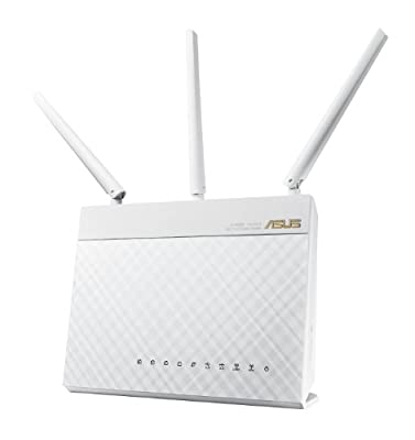 ASUS Wi-Fi Router with Data Rates up to 1900 Mbps (RT-AC68W)
