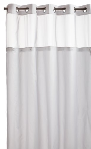 extra long shower curtain liner discount hookless mystery snap in