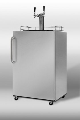 Summit Summit Sbc-490-Os Stainless Steel Ul Listed Outdoor Kegerator