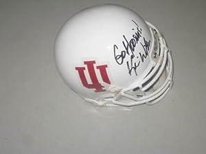 Kevin Wilson Indiana Hoosiers Football Head Coach Signed Mini Helmet PROOF -... by Sports+Memorabilia