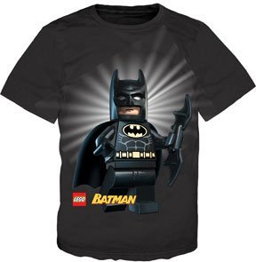 Lego Batman Full Body Boys Black T-Shirt at Gotham City Store