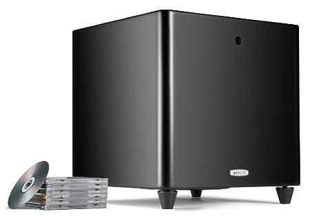Polk audio-dSW pro 550 wi caisson de basse actif 400 w 25 cm-fil pilote, compatible kit (noir)