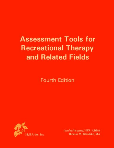 Assessment Tools for Recreational Therapy and Related...