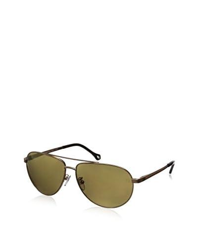 Ermenegildo Zegna Men's SZ3348 Sunglasses, Copper Gold
