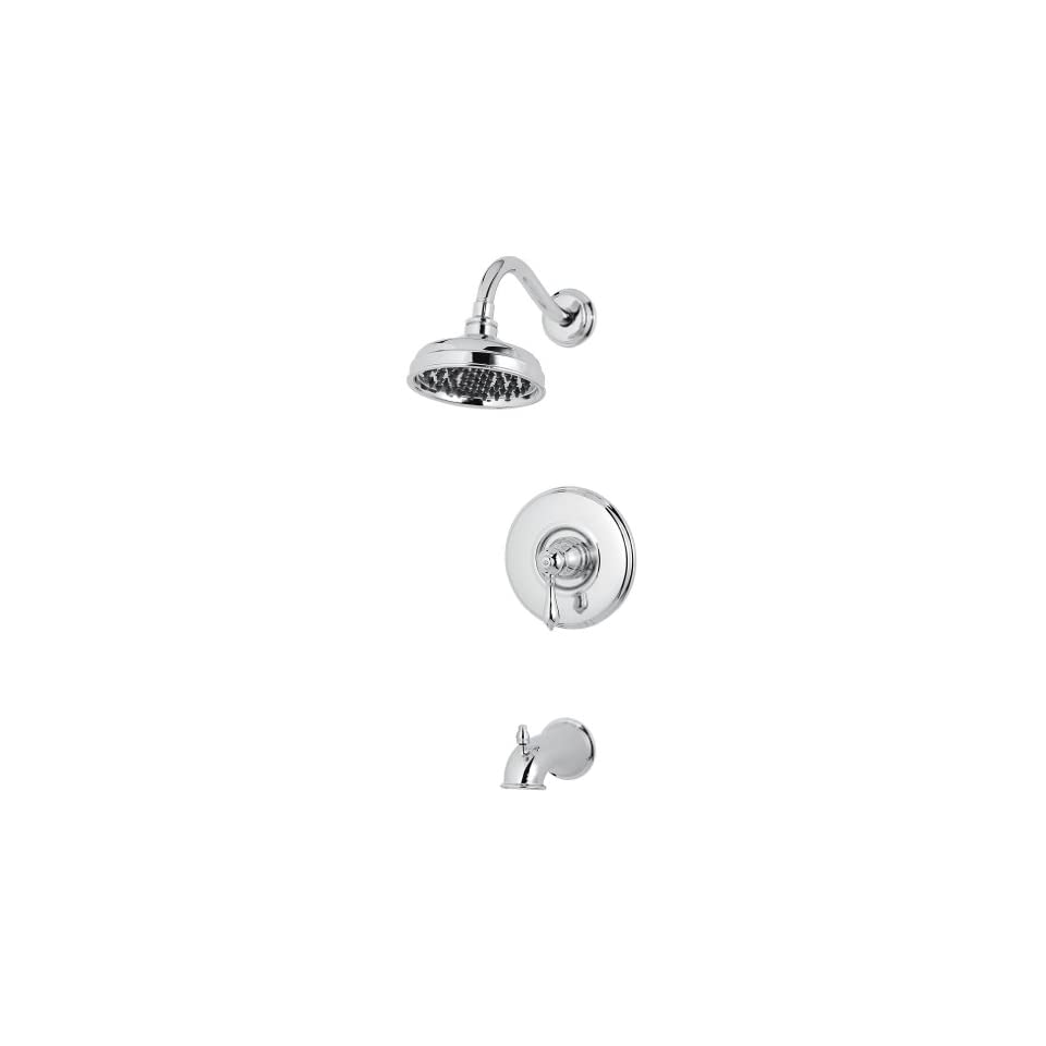 Pfister 808M0BC Marielle Single Handle Tub and Shower Faucet, Chrome