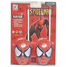 BATTERY OPERATED SPIDERMAN WALKIE TALKIE SET FOR KIDS