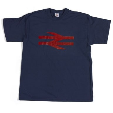'British Rail' T-Shirt||RF10F