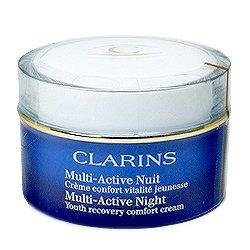 クラランス マルチアクティブ ナイト クリーム ドライ 50ml スキンクリーム 内容量 50ml
