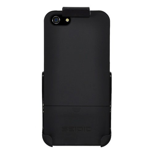 Great Price Seidio BD2-HR3IPH5-BK Surface Case and Holster Combo for Apple iPhone 5 - Retail Packaging - Black
