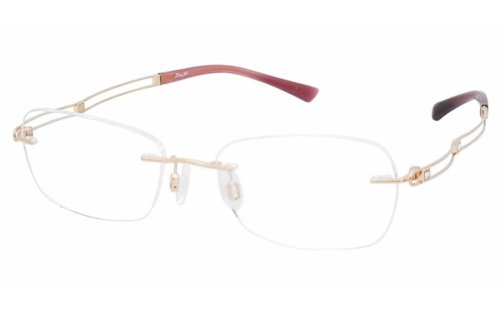 Charmant Line Art Women's Eyeglasses XL2050 XL/2050 GP Gold Optical Frame 51mm (Charmant Eyeglass Frames compare prices)