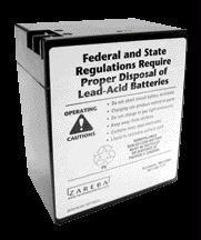 (Black) Zreba Replc Slr Batr Lis10/sp10 - Size: 6 Volt