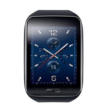 Samsung Galaxy Gear S R750 Smart Watch, Black, Verizon (Certified Refurbished) (Samsung Gear S Smartwatch compare prices)