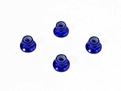 Luxury RC Traxxas 4mm Blue Wheel Lock Nuts (Set of 4) Traxxas Axial Racing HPI Racing TLR and ECX