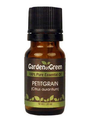 Petitgrain Essential Oil (100% Pure and Natural, Therapeutic Grade) from Garden of Green