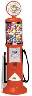 Gas Pump Gumball Machine Bank (Money Vending Machine compare prices)