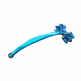 Pressure Positive VIBRA Glacier Blue Vibrassager Massage Tool