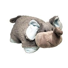 Pillow Pets 11 inch Pee Wees - Nutty Elephant - 1