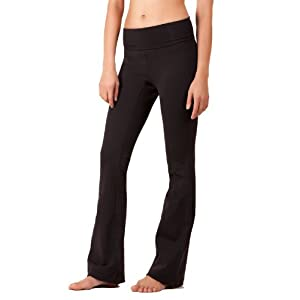 5102-BK-L-35 Everyday Yoga Pants, Black Large