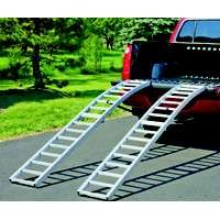 Highland (1123100) 90 Aluminum Arched Center Fold Loading Ramp - Pair by Highland