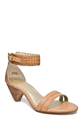 Seychelles Women's Jump At The Chance Ankle-Strap Sandal,Tan,8 M US