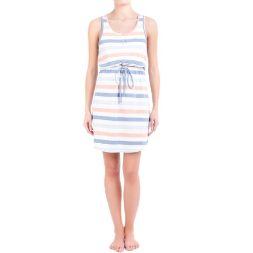 women'secret Short Sleeveless Stripe Print Nightdress
