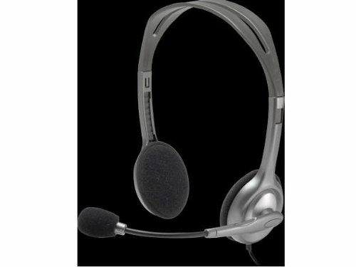 Logitech Stereo Headset H110 Lasting Quality And Excellent Performance Comfortable New