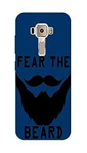 SWANK:FEAR THE BEARD PRINTED ASUS ZENFONE 3 ZE552 KL BACK CASE COVER