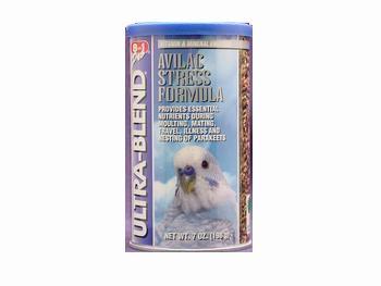Cheap 2PK Parakeet Ultrablend Avilac Stress Diet 70z (Catalog Category: Bird / Small Hookbill Treats) (BEOA567)