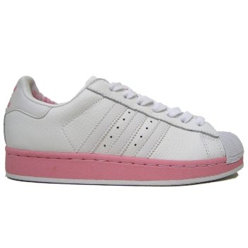 Adidas Superstar II 2 W White Pink Trainers