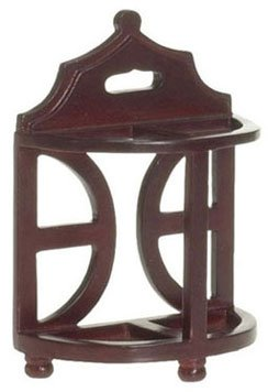 Dollhouse Umbrella Stand, Mahogany