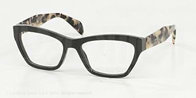 Amazon.com: Prada Journal Eyeglasses PR14QV TFN1O1 Opal ...