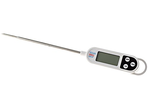 Best Deals! Texas BBQ Ninja Digital Food Thermometer with Probe - Professional and Accurate Kitchen,...