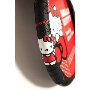 Hello Kitty Car Steering Wheel Cover - Ribbon