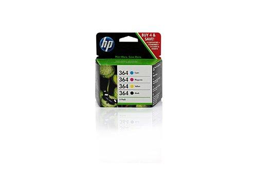 HP OfficeJet 4620 - Original HP SD534EE / 364 - Cartouche d'encre Multipack (PBK,C,M,Y) 4 pieces -