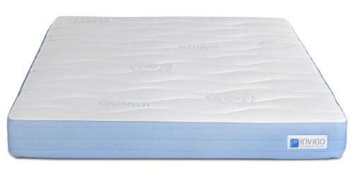 Invigo Fresh Natural Latex 8-Inch Mattress White With Exclusive Invigo Fresh Benefits, Full