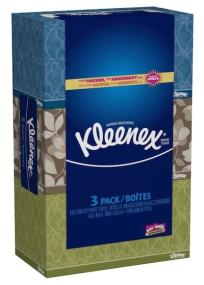 Be prepared with Kleenex facial tissues for cold and flu or back to school.