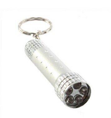 Creative LED Mini Flashlight Keychain Torch