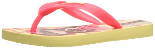 Ipanema Fun Kids II Sandal (Little Kid/Big Kid), Yellow/Pink, 13-1 M US Little Kid