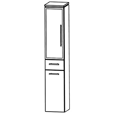 In Line (HNA053B5WL/R) Bathroom Furniture Tall 30 cm