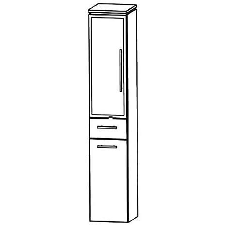 In Line (HNA053B5WL/R) Bathroom Furniture Tall 30cm