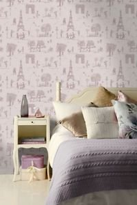 K2 Parisienne Wallpaper - Heather from New A-Brend