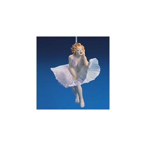Marilyn Monroe in White Dress Christmas Ornament