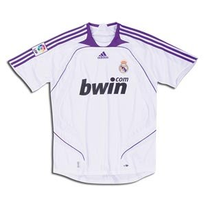Real Madrid 07/08 Home Youth Soccer Jersey